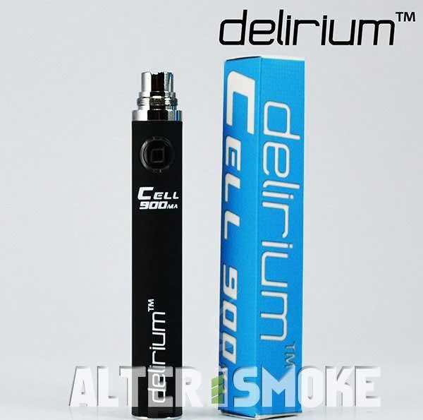 Μπαταρία Delirium Cell eGo 900mah (Μαύρο)