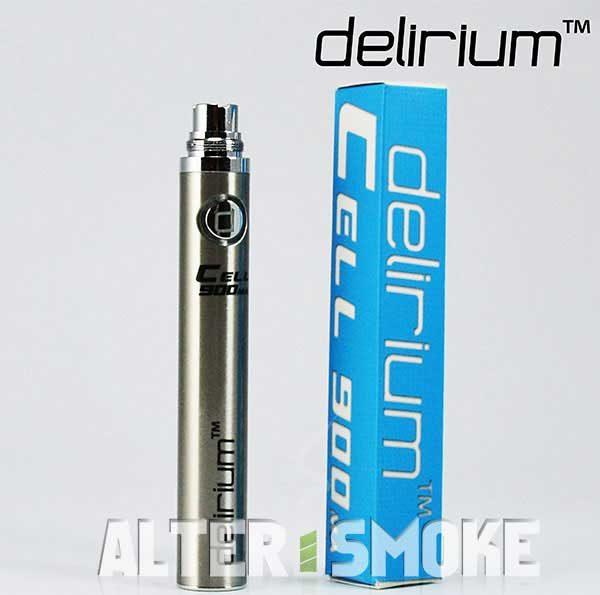 Μπαταρία Delirium Cell eGo 900mah (Ασημί)