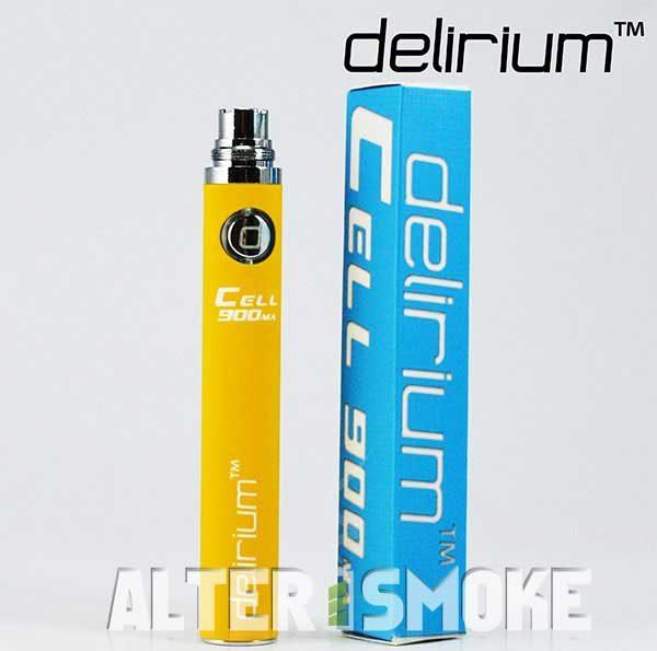 Μπαταρία Delirium Cell eGo 900mah (Κίτρινο)
