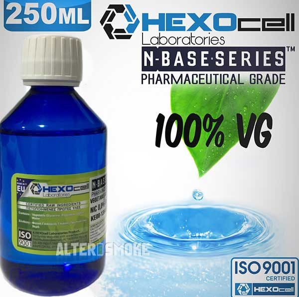 Hexocell nBase VG 0mg 250ml