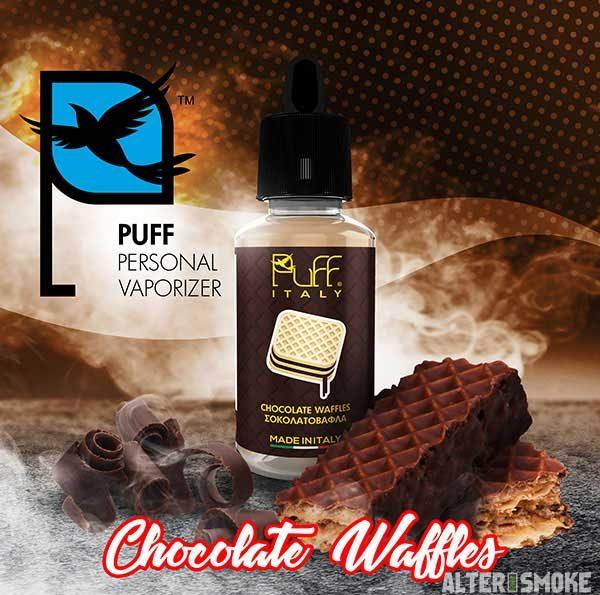 PuFF - Σοκολατοβάφλα (Chocolate Waffles)