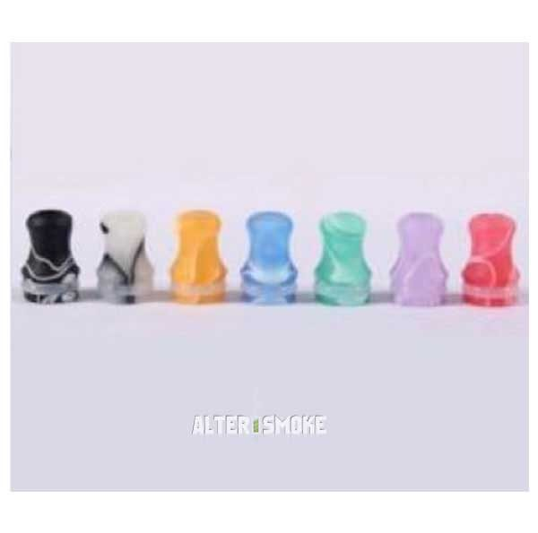 510 Plastic + Versi Colour Drip Tip (12mm)