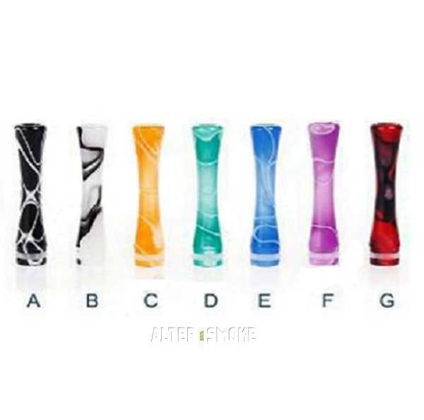 510 Plastic + Versi Colour Long Drip Tip