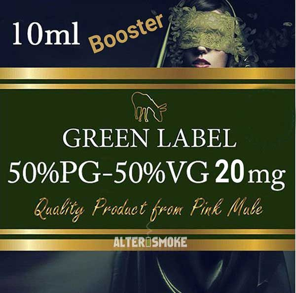 Pink Mule Booster VG/PG 20mg 10 ml