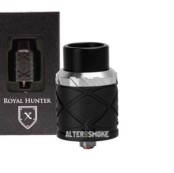 Council Of Vapor ROYAL HUNTER X RDA (Μαύρο)