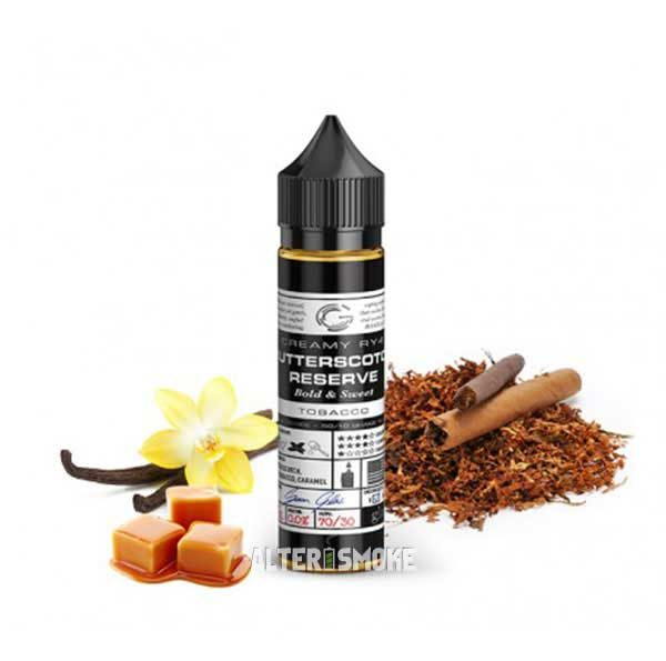 Basix Series Butterscotch Reserve (Mix and Vape)