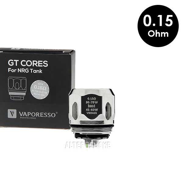 Κεφαλή Vaporesso GT4 (0.15 Ohm)