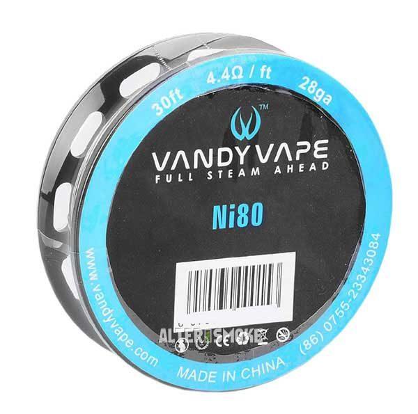 Vandy Vape Pure Nickel Ni80 28ga 30ft