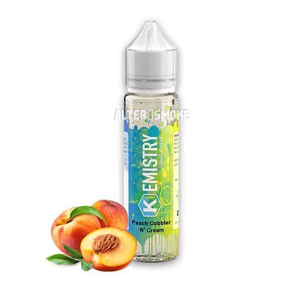 Kemistry Peach Cobbler 'N' Cream (Shake & Vape)