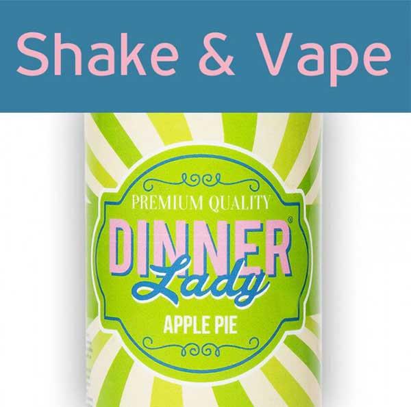 Dinner Lady Apple Pie (Mix & Vape)