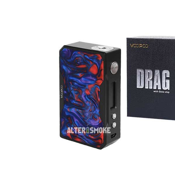 Voopoo Drag 157W Mod Black Resin (Azure)
