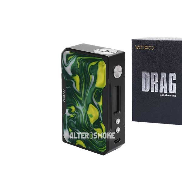 Voopoo Drag 157W Mod Black Resin (Jade)