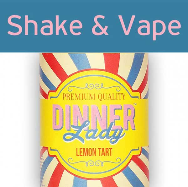 Dinner Lady Lemon Tart (Mix & Vape)