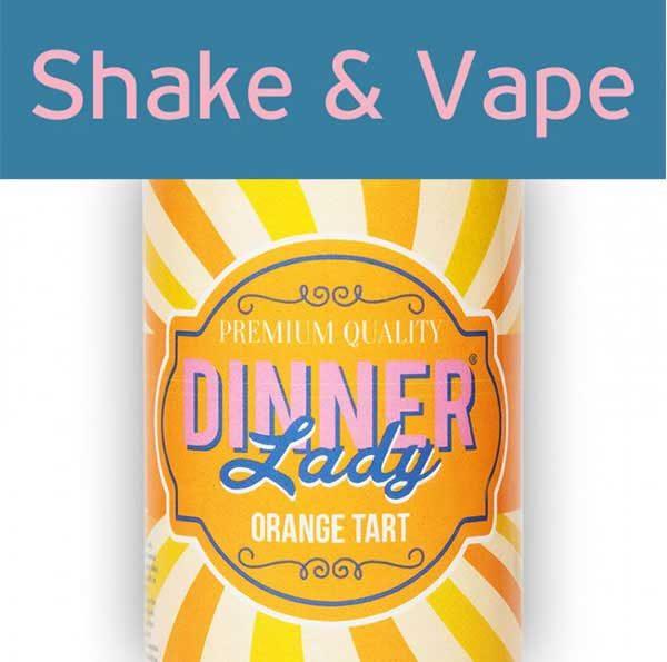 Dinner Lady Orange Tart (Mix & Vape)