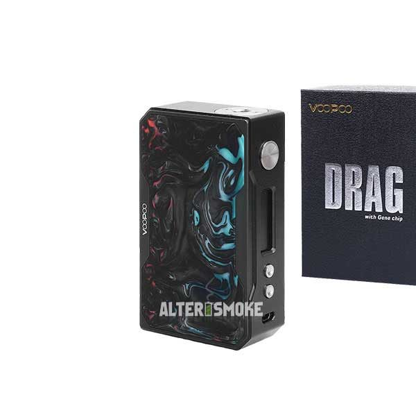 Voopoo Drag 157W Mod Black Resin (Purple Jade)
