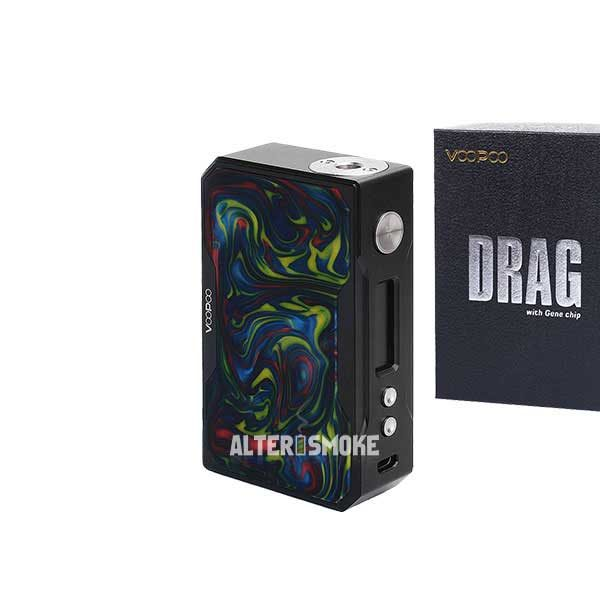 Voopoo Drag 157W Mod Black Resin (Rainbow)