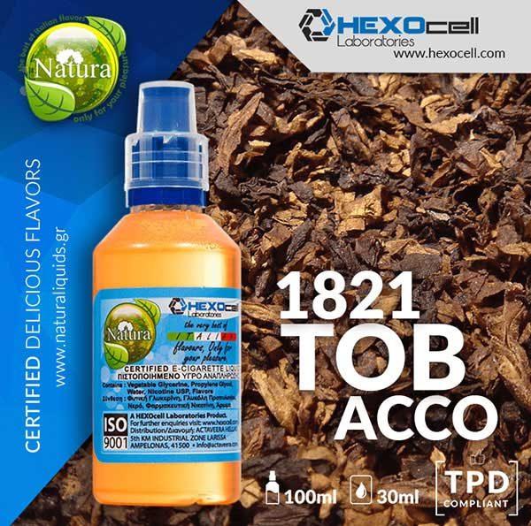 Natura - 1821 Tobacco (Mix Shake Vape)
