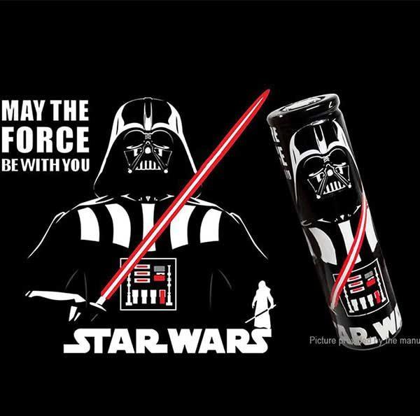 18650 Battery Wrapper Darth Vader