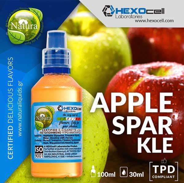 Natura - Apple Sparkle (Mix Shake Vape)