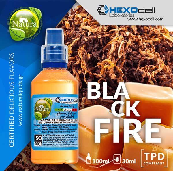 Natura - Black Fire (Mix Shake Vape)