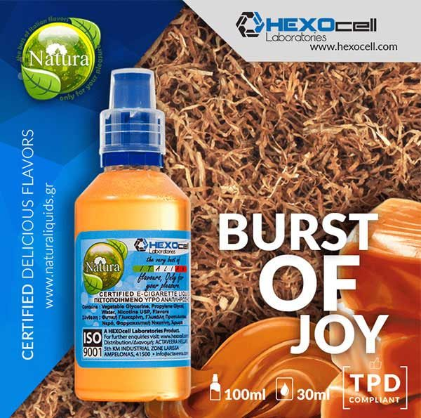 Natura - Burst of Joy (Mix Shake Vape)