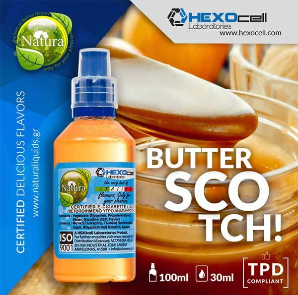 Natura - Butterscotch! (Mix Shake Vape)