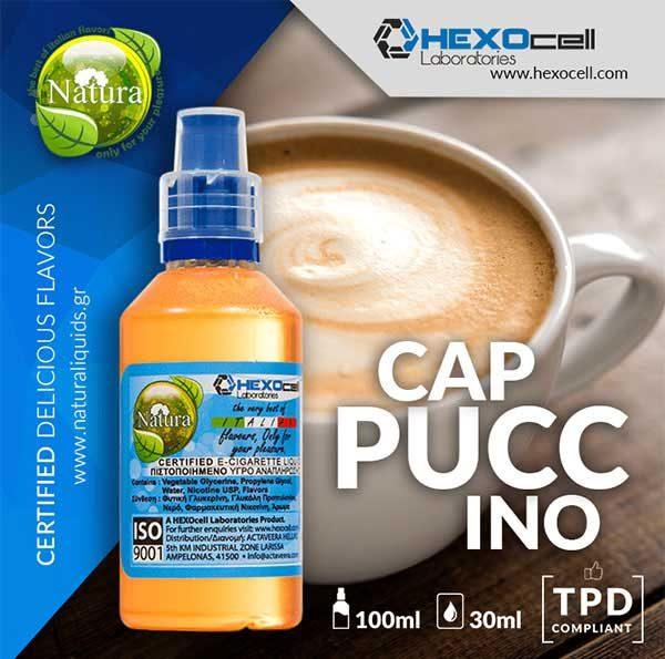 Natura - Cappuccino (Mix Shake Vape)