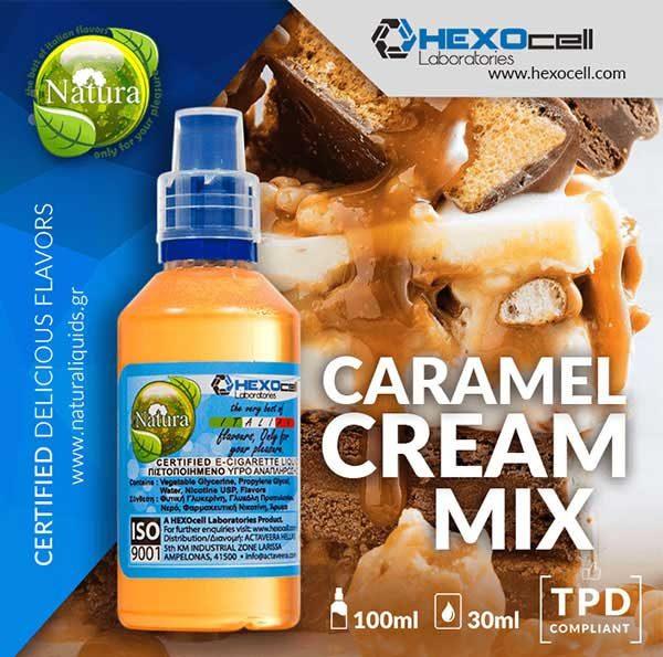 Natura - Caramel Cream Mix (Mix Shake Vape)