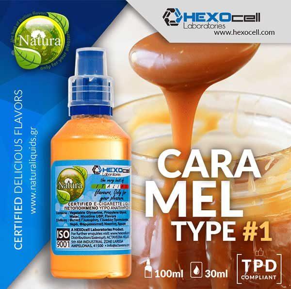 Natura - Caramel Type #1 (Mix Shake Vape)