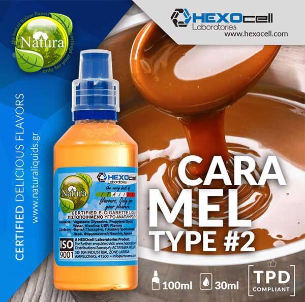 Natura - Caramel Type #2 (Mix Shake Vape)