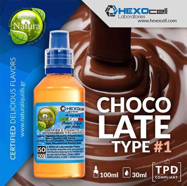 Natura - Chocolate Type #1 (Mix Shake Vape)