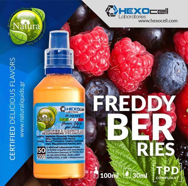 Natura - Freddy Berries (Mix Shake Vape)