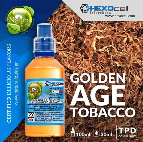 Natura - Golden Age Tobacco (Mix Shake Vape)