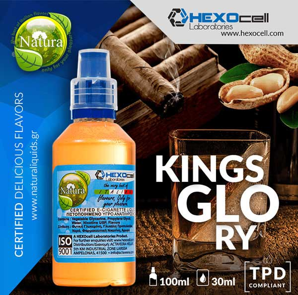 Natura - Kings Glory (Mix Shake Vape)
