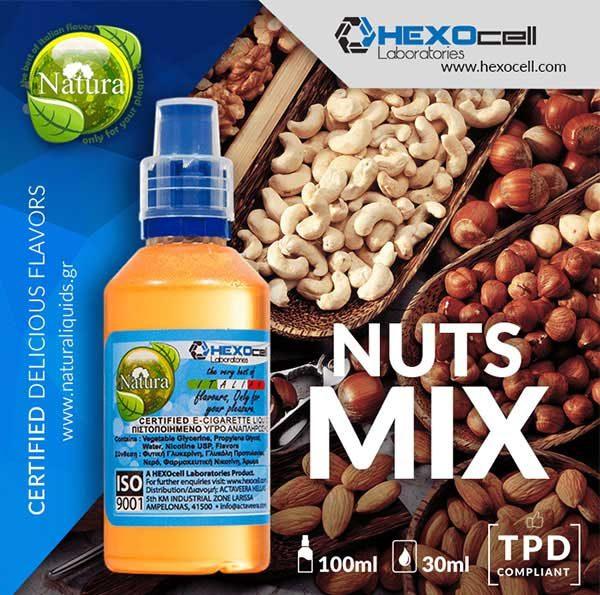 Natura - Nuts Mix (Mix Shake Vape)