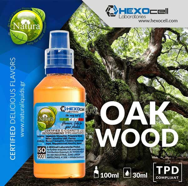 Natura - Oak Wood (Mix Shake Vape)