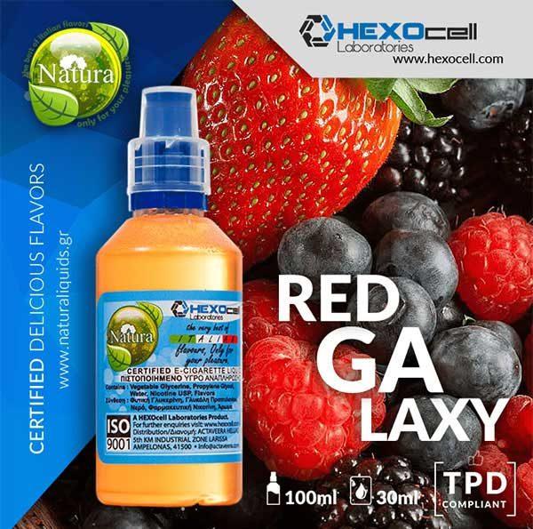Natura - Red Galaxy (Mix Shake Vape)