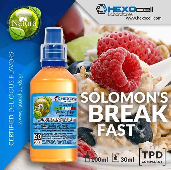 Natura - Solomons Breakfast (Mix Shake Vape)