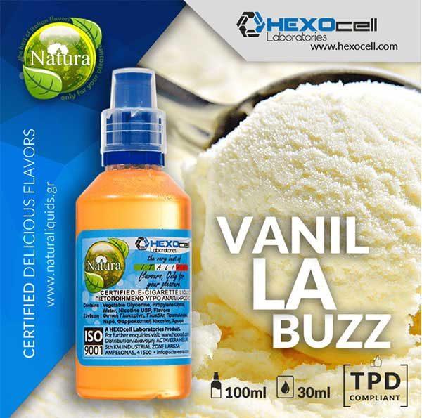 Natura - Vanilla Buzz (Mix Shake Vape)