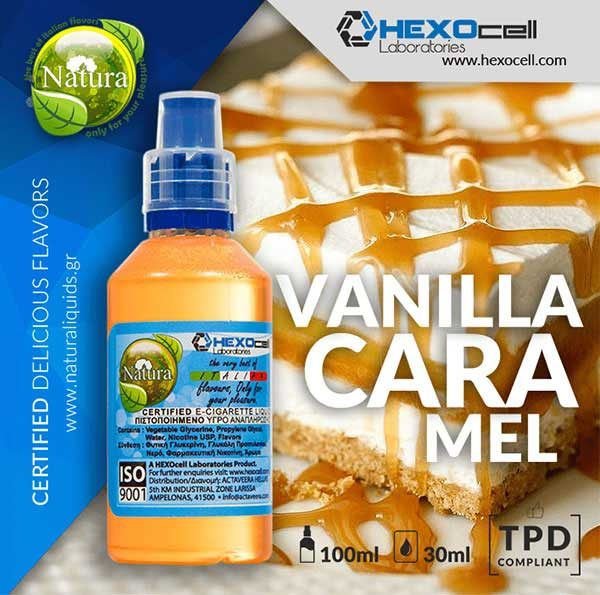 Natura - Vanillino Caramelino (Mix Shake Vape)