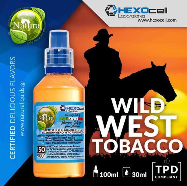 Natura - Wild West Tobacco (Mix Shake Vape)