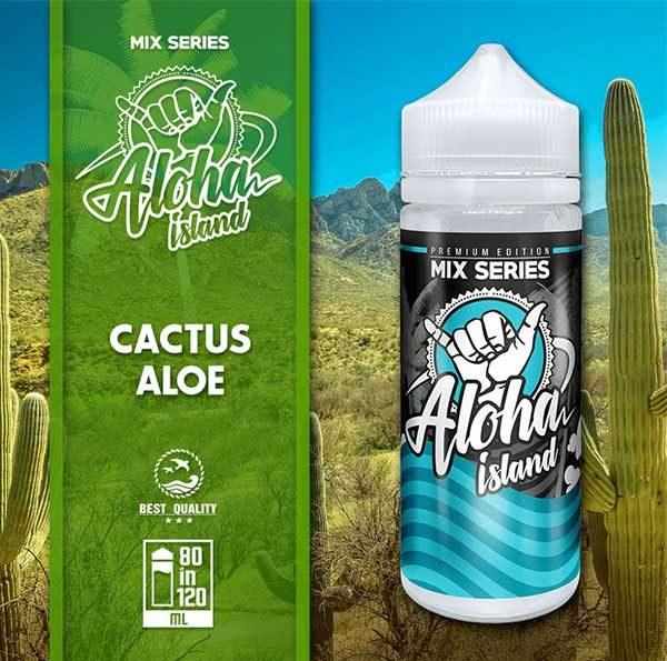 Aloha Island Cactus & Aloe (Mix Shake Vape)