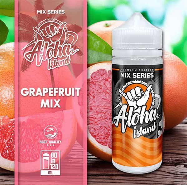 Aloha Island Grapefruit Mix (Mix Shake Vape)