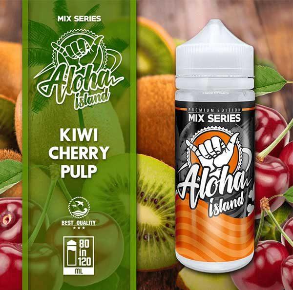 Aloha Island Kiwi & Cherry Pulp (Mix Shake Vape)