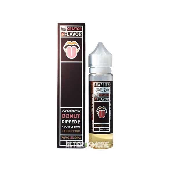 Charlie's Chalk Dust Donut Cappuccino (Mix Shake Vape)