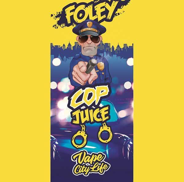 Eliquid France Cop Juice Foley (Mix & Vape)