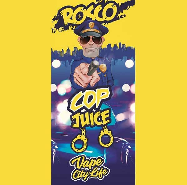 Eliquid France Cop Juice Rosco (Mix & Vape)