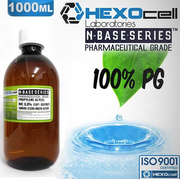 Hexocell nBase PG 0mg 1000ml