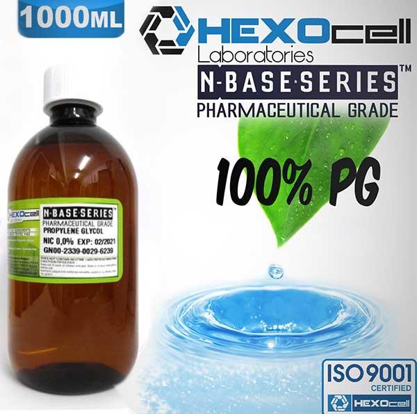 Hexocell nBase PG 0mg 1000ml