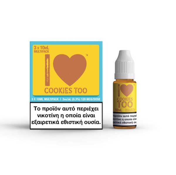 Mad Hatter - I Love Cookies (3x10ml)